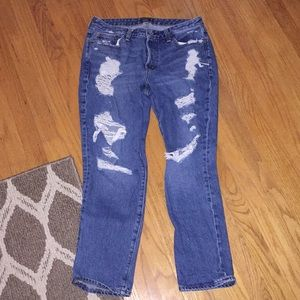 Abercrombie and Fitch boyfriend slim jeans